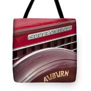 1935 Auburn Emblem Tote Bag