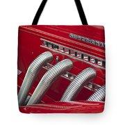 1935 Auburn Side Pipes Tote Bag
