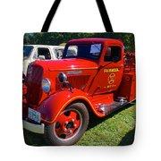 1935 Dodge Firetruck Tote Bag