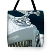 1935 Packard Sedan Hood Ornament Tote Bag