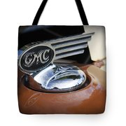 1936 Gmc Pickup Truck Hood Ornament Tote Bag