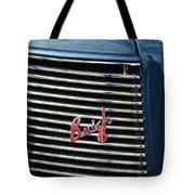 1937 Buick Grille Emblem Tote Bag