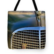 1937 Cadillac Hood Ornament And Grille Tote Bag