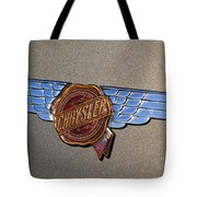 1937 Chrysler Airflow Emblem Tote Bag