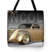 1937 Lincoln Zephyr Tote Bag