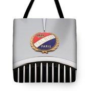 1937 Talbot-lago Emblem Tote Bag
