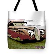 1938 Delahaye Cabriolet Tote Bag
