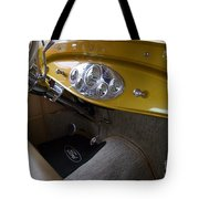 1938 Ford Roadster Dashboard Tote Bag