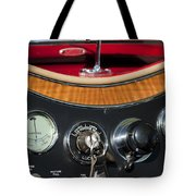1938 Mg Ta Dashboard Tote Bag