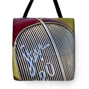1938 Steyr 220 Glaser Roadster Grille Emblem Tote Bag