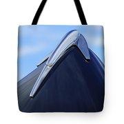 1939 Lincoln Zephyr Hood Ornament Tote Bag