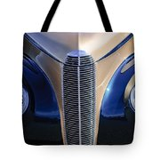 1940 Cadillac Lasalle Convertible Grille Tote Bag