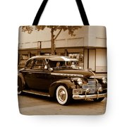 1940 Chevrolet Special Deluxe - Sepia Tote Bag
