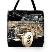 1940 Pontiac Transparent Tote Bag
