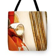 1940's Seagrave Fire Engine Tote Bag