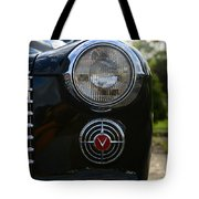 1941 Cadillac Headlight Tote Bag