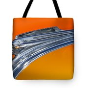 1941 Pontiac Chief Hood Ornament Tote Bag