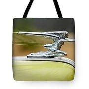 1942 Packard Hood Ornament Tote Bag