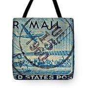 1946 Oakland Bay Bridge Air Mail Stamp Tote Bag