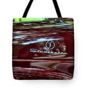 1947 Studebaker Name Plate Tote Bag