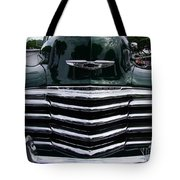 1948 Chevy Coupe Grille Tote Bag