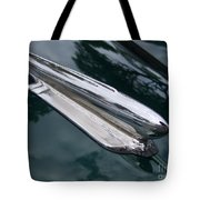 1948 Chevy Coupe Hood Ornament Tote Bag