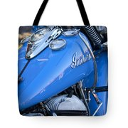 1948 Indian Chief Motorcycle Tote Bag