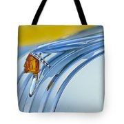 1948 Pontiac Hood Ornament 2 Tote Bag