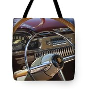 1949 Cadillac Sedanette Steering Wheel Tote Bag