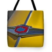 1949 Chevrolet Sedan Hood Emblem Tote Bag
