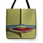 1950 Chevrolet Fleetline Emblem Tote Bag