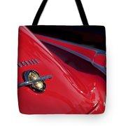 1950 Oldsmobile Rocket 88 Rear Emblem And Taillight Tote Bag