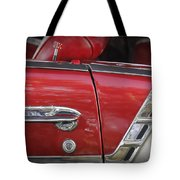 1950s Chevrolet Belair Chevy Antique Vintage Car 3 Tote Bag