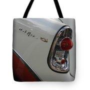 1950s Chevrolet Belair Chevy Antique Vintage Car Tote Bag