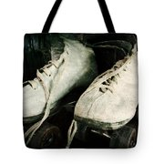 1950's Roller Skates Tote Bag by Michelle Calkins