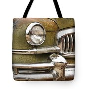 1951 Nash Ambassador Front End Closeup Tote Bag