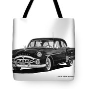 1951 Packard Patrician 400 Tote Bag