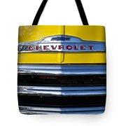 1952 Chevrolet Grille Emblem Tote Bag