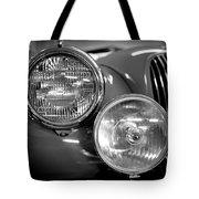 1952 Jaguar Headlights Tote Bag