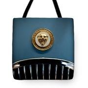 1952 Jaguar Hood Ornament Tote Bag by Sebastian Musial