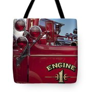 1952 L Model Mack Pumper Fire Truck 2 Tote Bag
