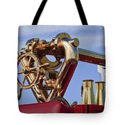 1952 L Model Mack Pumper Fire Truck Tote Bag