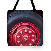 1952 L Model Mack Pumper Fire Truck Wheel 2 Tote Bag