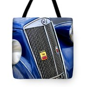 1952 Lancia Ardea 4th Series Berlina Grille Emblems Tote Bag