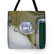 1952 Mg Roadster Headlamp Tote Bag