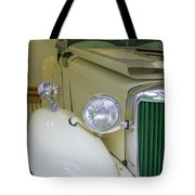 1952 Mg Roadster  Side View Tote Bag