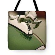 1952 Sterling Gladwin Maverick Sportster Hood Ornament Tote Bag