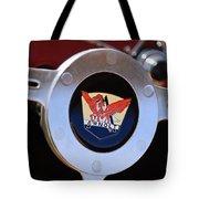 1953 Arnolt Mg Steering Wheel Emblem Tote Bag