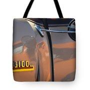 1953 Chevrolet 3100 Pickup Emblem Tote Bag