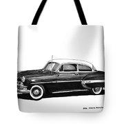 1953 Chevrolet Post 2 Dr Sedan Tote Bag